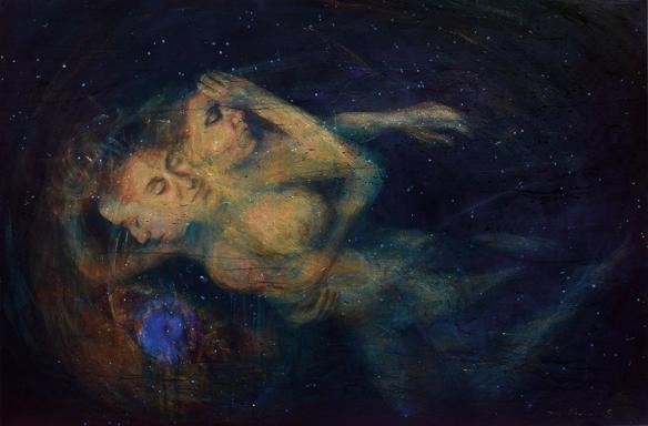 Dark Matter Shannon Egans _ 1020 x 1530mm 2017